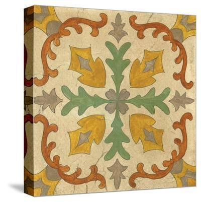 Andalucia Tiles I Color-Silvia Vassileva-Stretched Canvas Print