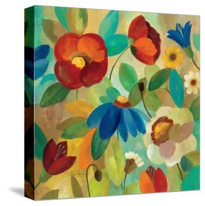 Summer Floral I-Silvia Vassileva-Stretched Canvas Print