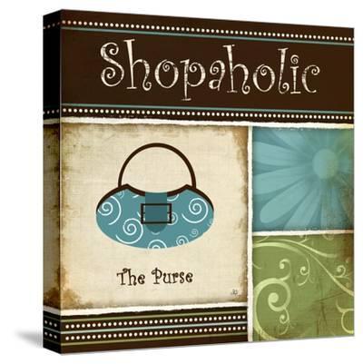Shopaholic-Jennifer Pugh-Stretched Canvas Print