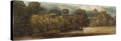 A View at Ambleside-Francis Towne-Stretched Canvas Print
