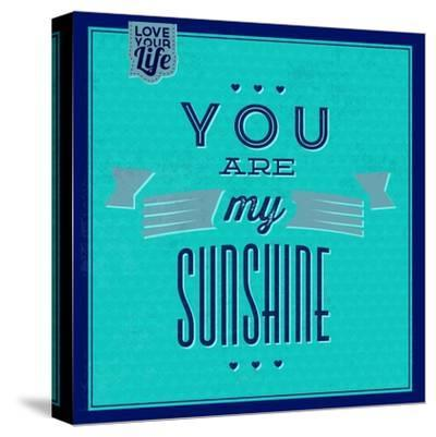 You are My Sunshine 1-Lorand Okos-Stretched Canvas Print