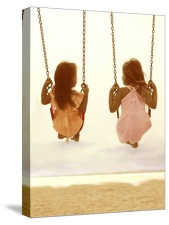 Swing Together-Betsy Cameron-Stretched Canvas Print