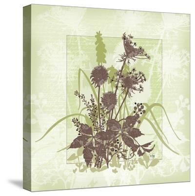 Floral Bouquet-Bee Sturgis-Stretched Canvas Print