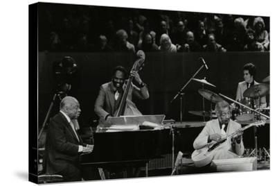 The Count Basie Orchestra in Concert at the Royal Festival Hall, London, 18 July 1980-Denis Williams-Stretched Canvas Print