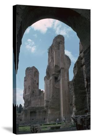 Baths of Caracalla, Built by the Emperors Instruction, 3rd Century-CM Dixon-Stretched Canvas Print