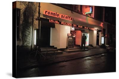 Ronnie Scott Club, 2003-Brian O'Connor-Stretched Canvas Print