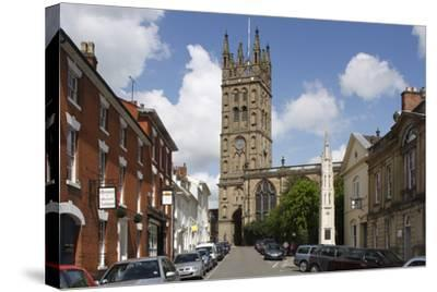 The Collegiate Church of St Mary, Warwick, Warwickshire, 2010-Peter Thompson-Stretched Canvas Print