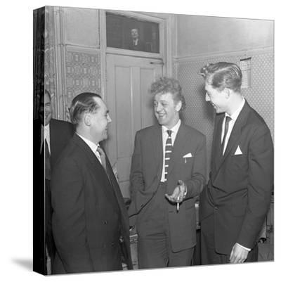Tv and Recording Star Wee Willie Harris Visits South Yorkshire, 1958-Michael Walters-Stretched Canvas Print