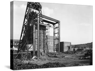 The Main Fan Drift at Rossington Colliery, Doncaster, South Yorkshire, 1966-Michael Walters-Stretched Canvas Print