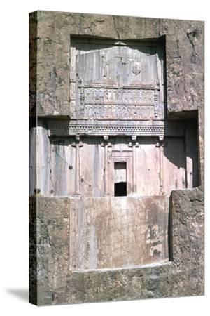 Tomb of Xerxes I, Naqsh-I-Rustam, Iran-Vivienne Sharp-Stretched Canvas Print