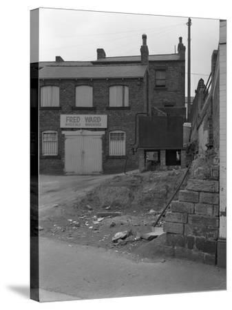 Urban Regeneration in Mexborough, South Yorkshire, 1966-Michael Walters-Stretched Canvas Print