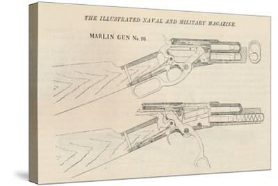 Marlin Gun No. 28, 1884--Stretched Canvas Print