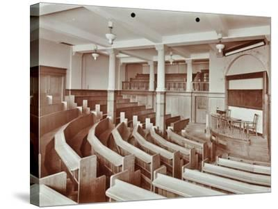 Lecture Theatre, London Day Training College, Camden, 1907--Stretched Canvas Print