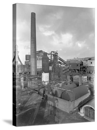 Wath Main Colliery, Wath Upon Dearne, Near Rotherham, South Yorkshire, 1956-Michael Walters-Stretched Canvas Print