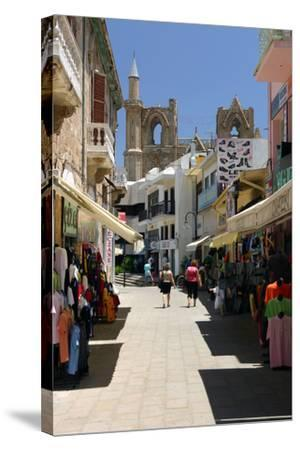 Istiklal Caddesi, Famagusta, North Cyprus-Peter Thompson-Stretched Canvas Print
