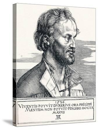 Philipp Melanchthon, 1526-Albrecht D?rer-Stretched Canvas Print