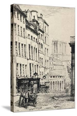 Rue De La Montagne-Ste Genevieve, 1915-Charles Heyman-Stretched Canvas Print