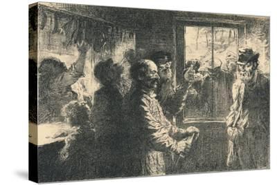 Dammerung, C1887-1898, (1898)-Robert Hermann Sterl-Stretched Canvas Print