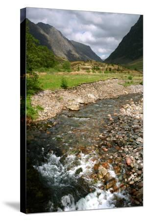Glencoe, Highland, Scotland-Peter Thompson-Stretched Canvas Print