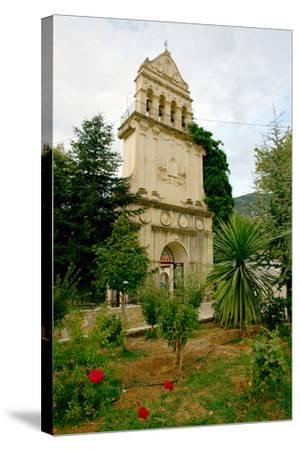 Monastery of Agios Gerasimos, Kefalonia, Greece-Peter Thompson-Stretched Canvas Print