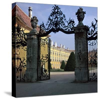 Esterhazy Palace at Fertod-CM Dixon-Stretched Canvas Print
