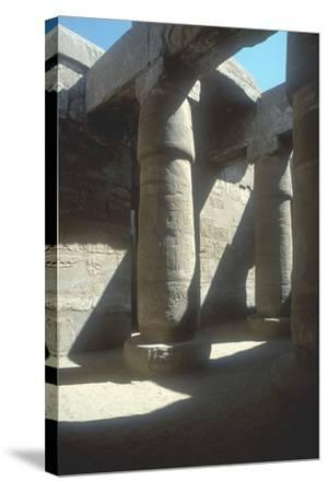 The Great Hypostyle Hall, Temple of Amun, Karnak, Egypt, 19th Dynasty, C13th Century Bc-CM Dixon-Stretched Canvas Print