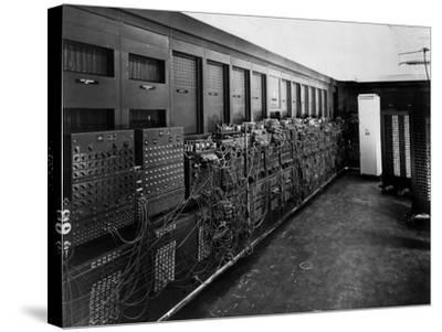 Eniac Computer Was the First General-Purpose Electronic Digital Computer--Stretched Canvas Print