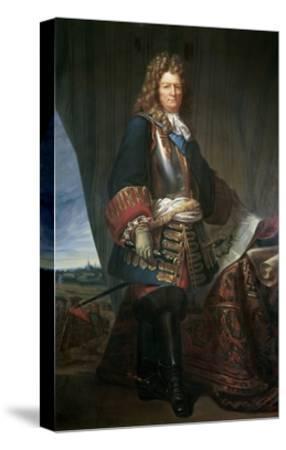 Sebastien Le Prestre De Vauban, Marshall of France. Ca. 1670--Stretched Canvas Print