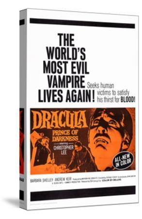 Dracula: Prince of Darkness--Stretched Canvas Print