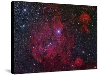 Ic 2944, the Running Chicken Nebula-Stocktrek Images-Stretched Canvas Print