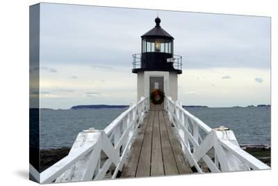 Marshall Point Lighthouse-lightningboldt-Stretched Canvas Print