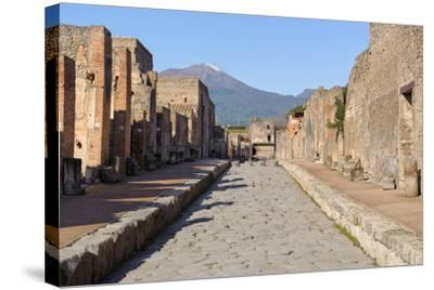 Street of Pompeii-JIPEN-Stretched Canvas Print