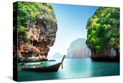 Fabled Landscape of Thailand-Iakov Kalinin-Stretched Canvas Print
