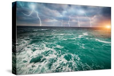 Storm on the Sea-Kashak-Stretched Canvas Print