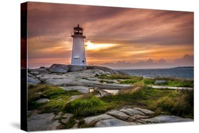 Peggy's Cove-vladikpod-Stretched Canvas Print