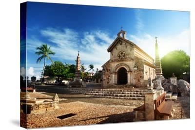 Village Altos De Chavon, Dominican Republic-Iakov Kalinin-Stretched Canvas Print