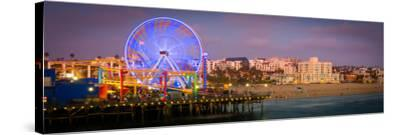 Santa Monica Pier-CelsoDiniz-Stretched Canvas Print