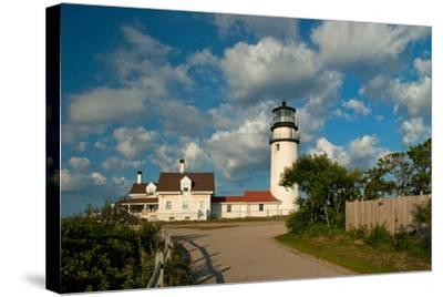 Cap Cod (Highland) Lighthouse-alwoodphoto-Stretched Canvas Print