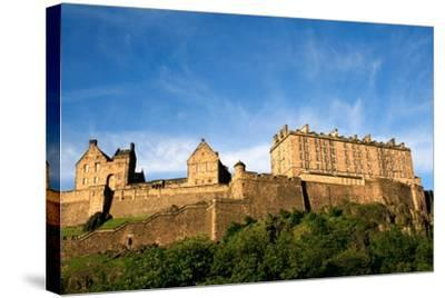 Edinburgh Castle-ZapIchigo-Stretched Canvas Print