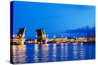 Annunciation Bridge in Saint-Petersburg-Ruslan_23-Stretched Canvas Print