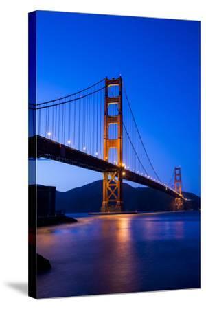 Golden Gate Bridge-John Roman Images-Stretched Canvas Print
