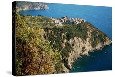 Corniglia Cinque Terre-Paolo Ardiani-Stretched Canvas Print