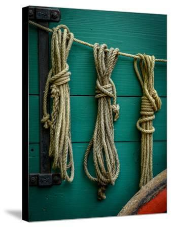 Wagon Ropes-Mr Doomits-Stretched Canvas Print