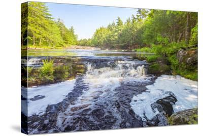 Forest Waterfall-Vadim Petrov-Stretched Canvas Print