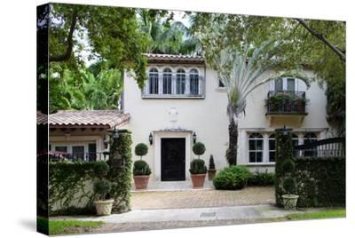 South Florida Home Exterior-felix mizioznikov-Stretched Canvas Print