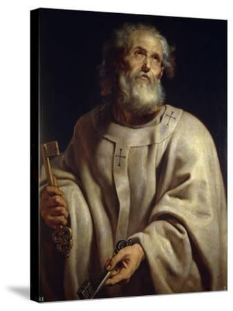 Saint Peter by Peter Paul Rubens--Stretched Canvas Print