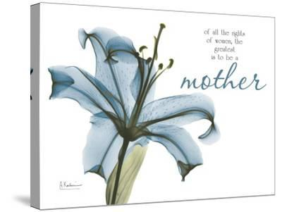 Lily Mother-Albert Koetsier-Stretched Canvas Print