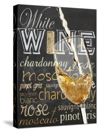 Wine Glass White-Lauren Gibbons-Stretched Canvas Print