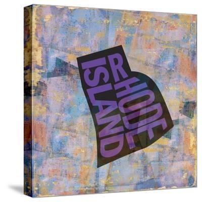Rhode Island-Art Licensing Studio-Stretched Canvas Print