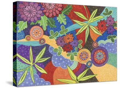 Kimono 2-Catherine Breer-Stretched Canvas Print